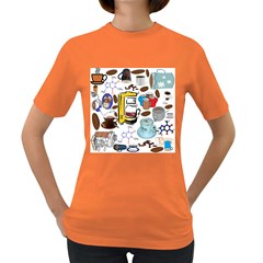 Just Bring Me Coffee Women s T-shirt (Colored)