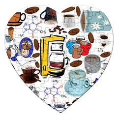 Just Bring Me Coffee Jigsaw Puzzle (heart)