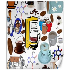 Just Bring Me Coffee Canvas 8  X 10  (unframed)
