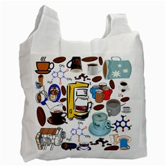 Just Bring Me Coffee Recycle Bag (one Side)