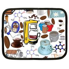 Just Bring Me Coffee Netbook Sleeve (xl)