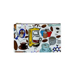 Just Bring Me Coffee Cosmetic Bag (small)