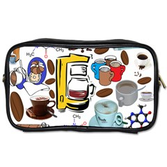 Just Bring Me Coffee Travel Toiletry Bag (Two Sides)