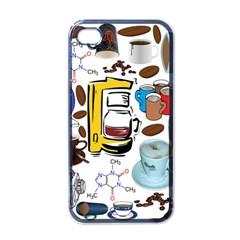 Just Bring Me Coffee Apple iPhone 4 Case (Black)