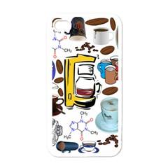 Just Bring Me Coffee Apple Iphone 4 Case (white)