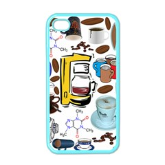 Just Bring Me Coffee Apple iPhone 4 Case (Color)