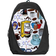 Just Bring Me Coffee Backpack Bag
