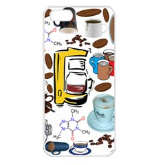 Just Bring Me Coffee Apple iPhone 5 Seamless Case (White)