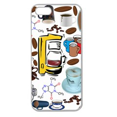Just Bring Me Coffee Apple Seamless Iphone 5 Case (clear)