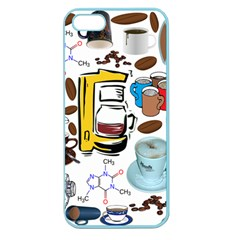 Just Bring Me Coffee Apple Seamless iPhone 5 Case (Color)