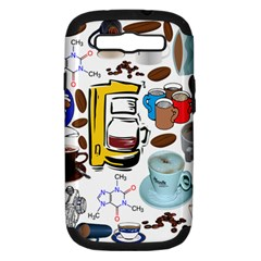 Just Bring Me Coffee Samsung Galaxy S Iii Hardshell Case (pc+silicone)