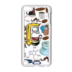 Just Bring Me Coffee Apple Ipod Touch 5 Case (white)