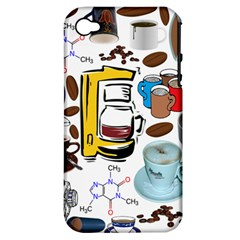Just Bring Me Coffee Apple iPhone 4/4S Hardshell Case (PC+Silicone)