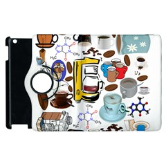 Just Bring Me Coffee Apple Ipad 3/4 Flip 360 Case
