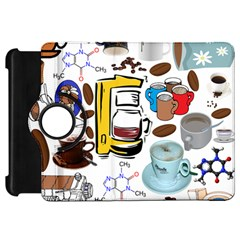 Just Bring Me Coffee Kindle Fire HD 7  (1st Gen) Flip 360 Case