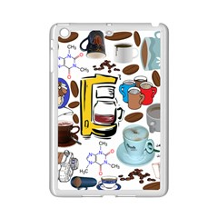 Just Bring Me Coffee Apple iPad Mini 2 Case (White)