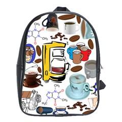 Just Bring Me Coffee School Bag (XL)
