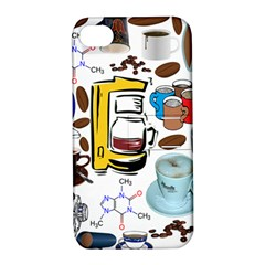 Just Bring Me Coffee Apple iPhone 4/4S Hardshell Case with Stand