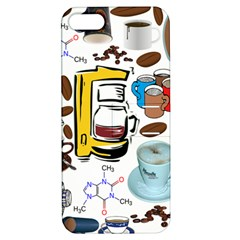 Just Bring Me Coffee Apple iPhone 5 Hardshell Case with Stand