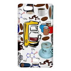 Just Bring Me Coffee Sony Xperia Miro Hardshell Case
