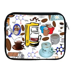 Just Bring Me Coffee Apple Ipad Zippered Sleeve