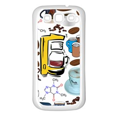 Just Bring Me Coffee Samsung Galaxy S3 Back Case (White)