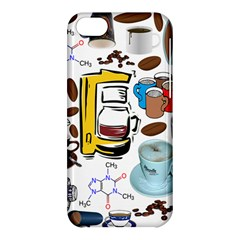 Just Bring Me Coffee Apple Iphone 5c Hardshell Case