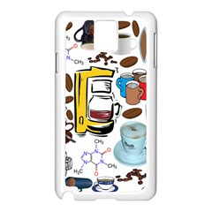 Just Bring Me Coffee Samsung Galaxy Note 3 Case (White)