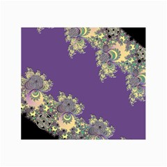 Purple Symbolic Fractal Canvas 24  x 36  (Unframed)