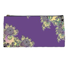 Purple Symbolic Fractal Pencil Case