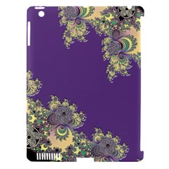 Purple Symbolic Fractal Apple iPad 3/4 Hardshell Case (Compatible with Smart Cover)