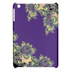 Purple Symbolic Fractal Apple iPad Mini Hardshell Case