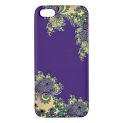 Purple Symbolic Fractal Iphone 5 Premium Hardshell Case