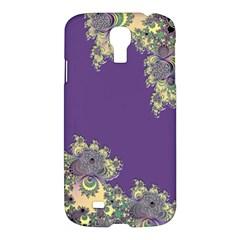 Purple Symbolic Fractal Samsung Galaxy S4 I9500/I9505 Hardshell Case