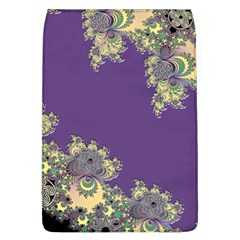 Purple Symbolic Fractal Removable Flap Cover (large)