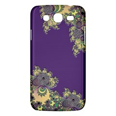 Purple Symbolic Fractal Samsung Galaxy Mega 5 8 I9152 Hardshell Case