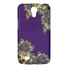 Purple Symbolic Fractal Samsung Galaxy Mega 6.3  I9200 Hardshell Case