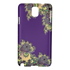Purple Symbolic Fractal Samsung Galaxy Note 3 N9005 Hardshell Case