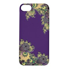 Purple Symbolic Fractal Apple iPhone 5S Hardshell Case