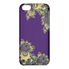 Purple Symbolic Fractal Apple iPhone 5C Hardshell Case