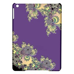 Purple Symbolic Fractal Apple Ipad Air Hardshell Case