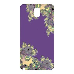 Purple Symbolic Fractal Samsung Galaxy Note 3 Hardshell Back Case
