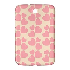 Cream And Salmon Hearts Samsung Galaxy Note 8.0 N5100 Hardshell Case