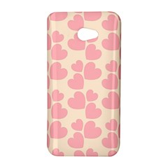 Cream And Salmon Hearts HTC Butterfly S Hardshell Case