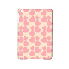 Cream And Salmon Hearts Apple iPad Mini 2 Hardshell Case