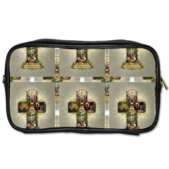 Easter Cross Travel Toiletry Bag (Two Sides)