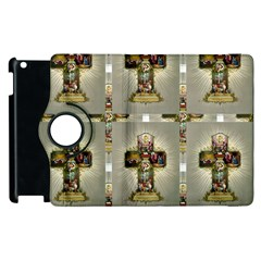 Easter Cross Apple iPad 3/4 Flip 360 Case