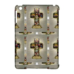 Easter Cross Apple iPad Mini Hardshell Case (Compatible with Smart Cover)