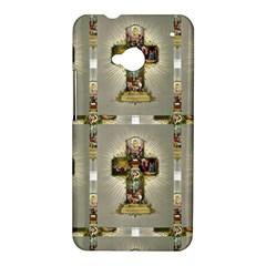 Easter Cross HTC One Hardshell Case