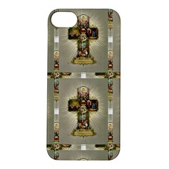 Easter Cross Apple iPhone 5S Hardshell Case